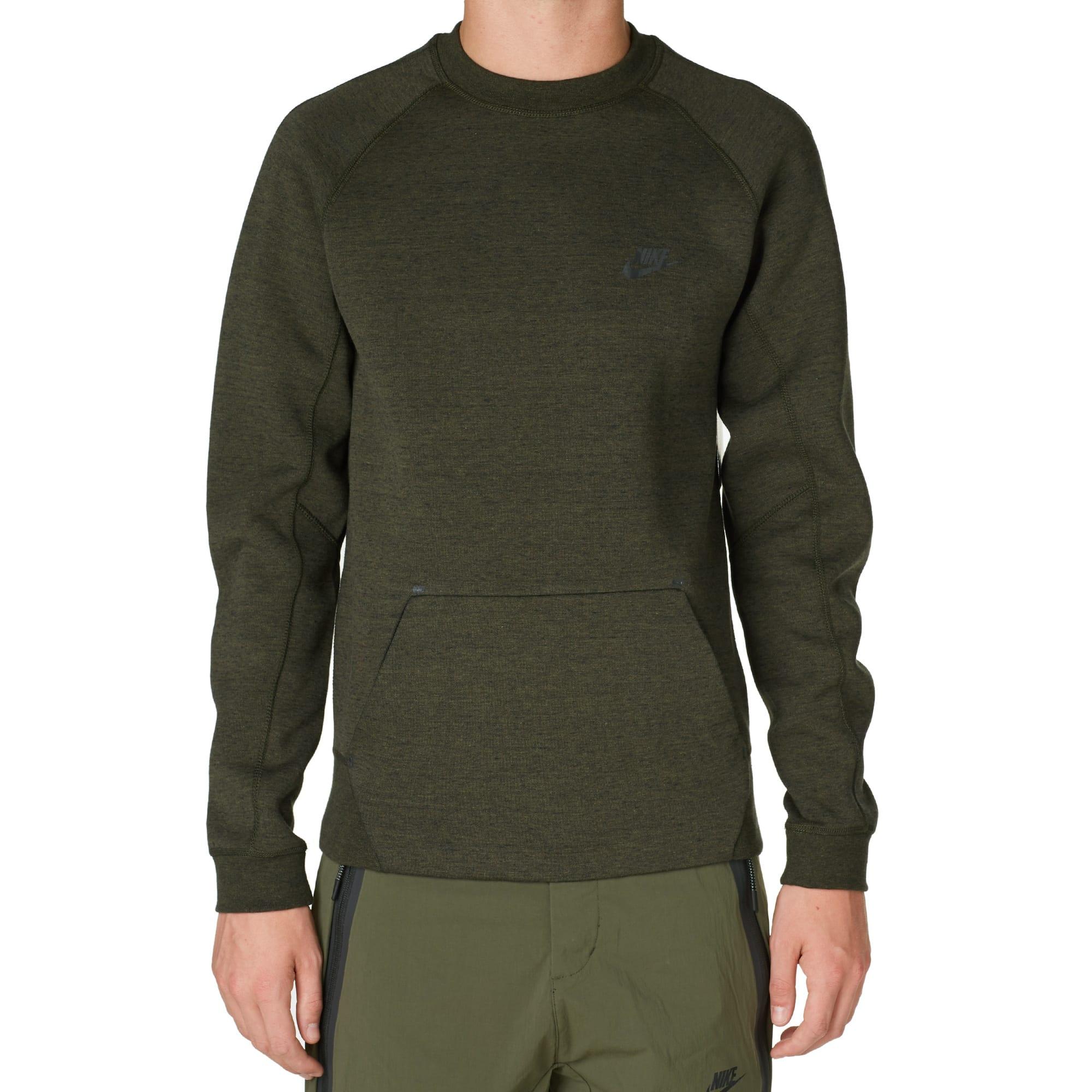 b971a6fb Nike Tech Fleece Crew Cargo Khaki & Black | END.