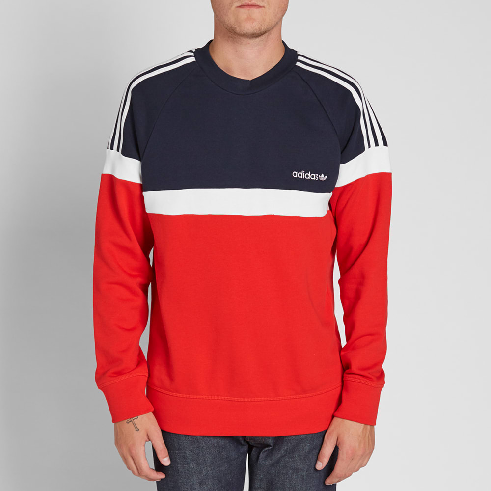 the best new styles discount shop Adidas Itasca Crew Sweat