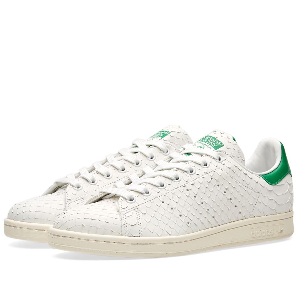 chaussures de sport 366af eff7a Adidas Women's Stan Smith Snake W