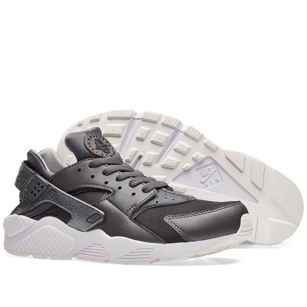new product dfb09 c0e0c Nike Air Huarache Run Premium. Metallic Hematite   Cool Grey