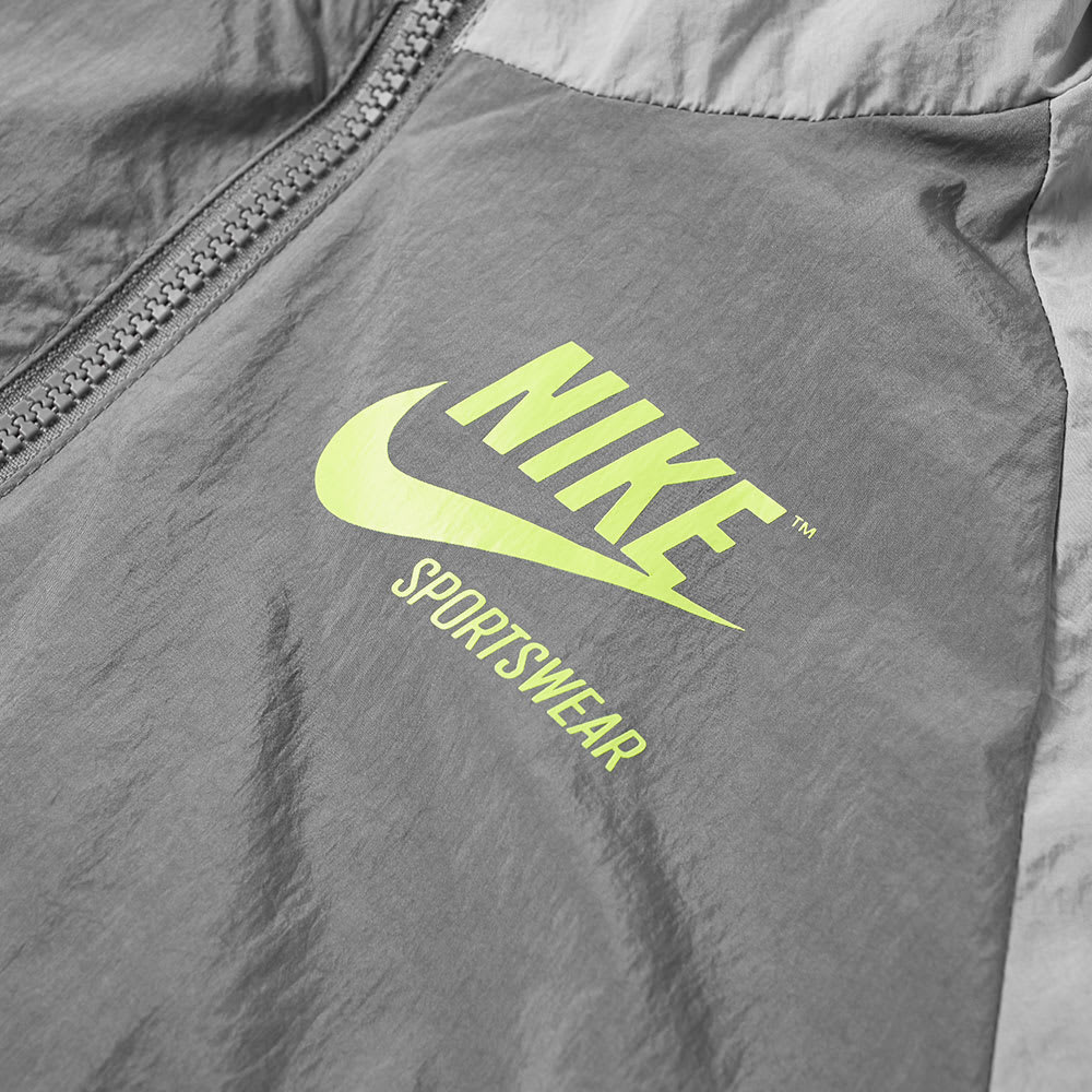 ddbbca735fb5 Nike Half Zip Archive Jacket Wolf Grey