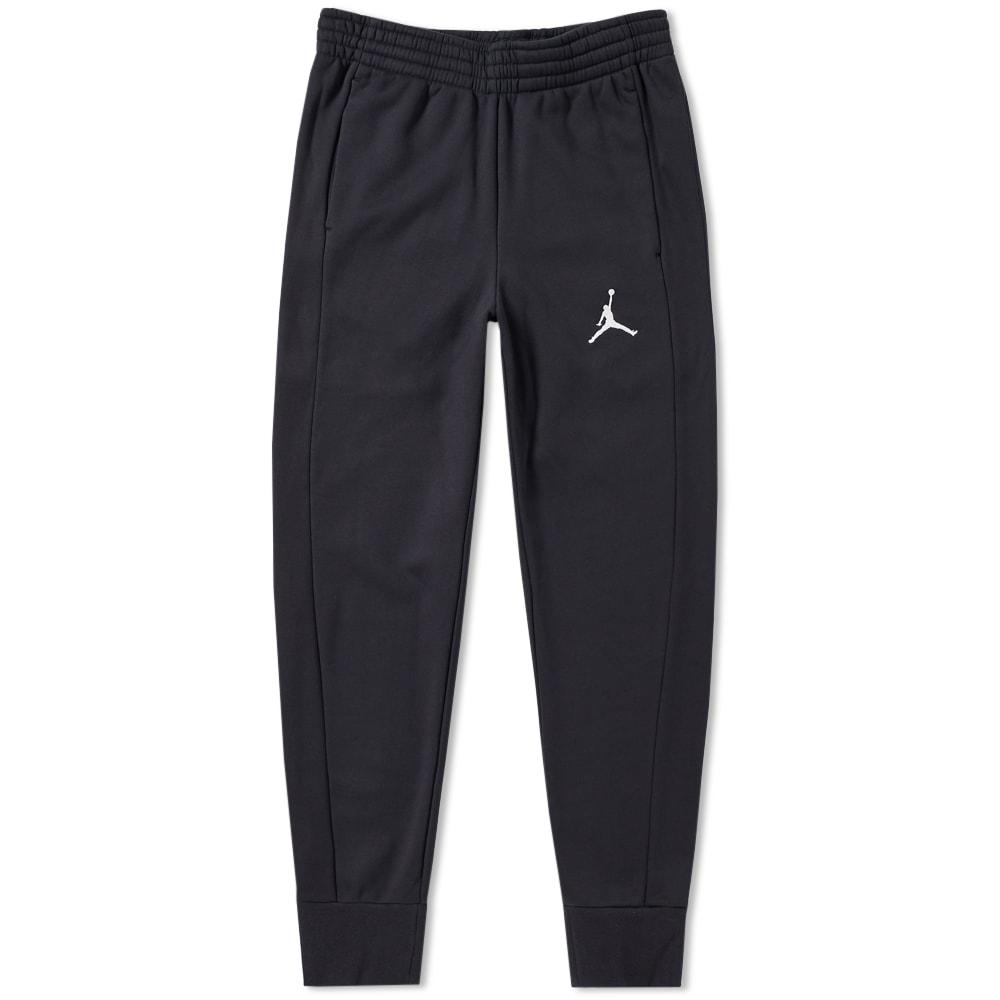 f7178decb4817f Nike Jordan Flight Fleece Pant Black   White