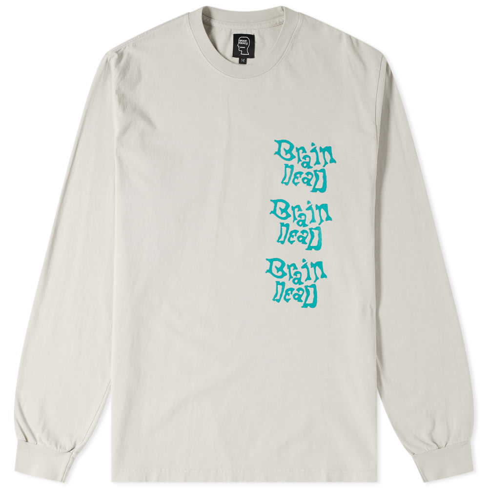 BRAIN DEAD LONG SLEEVE PSYCHEDELICATESSEN TEE