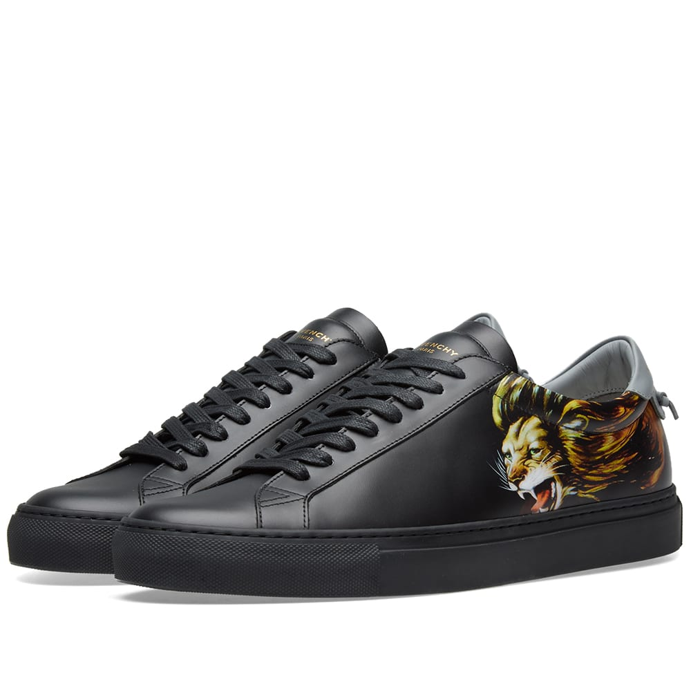 77fb52c65d02a Givenchy Leo Sneaker Black   Multi