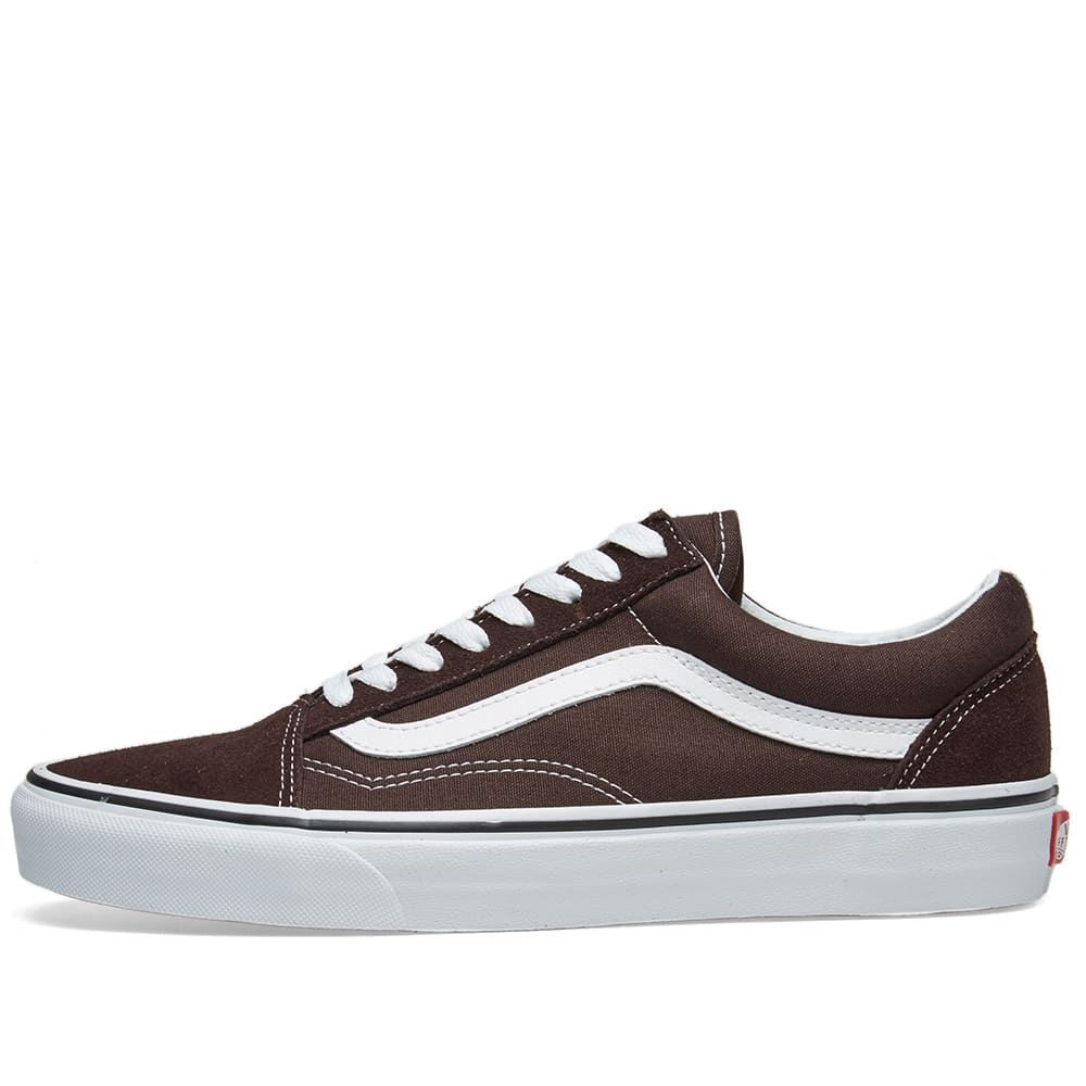 af65ac84c31 Vans Old Skool Chocolate Torte   True White