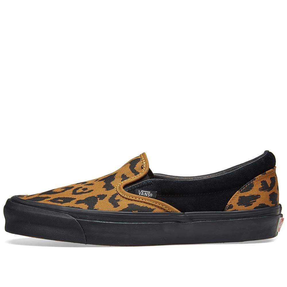 506dd14771 Vans Vault Classic Slip On LX Leopard Print