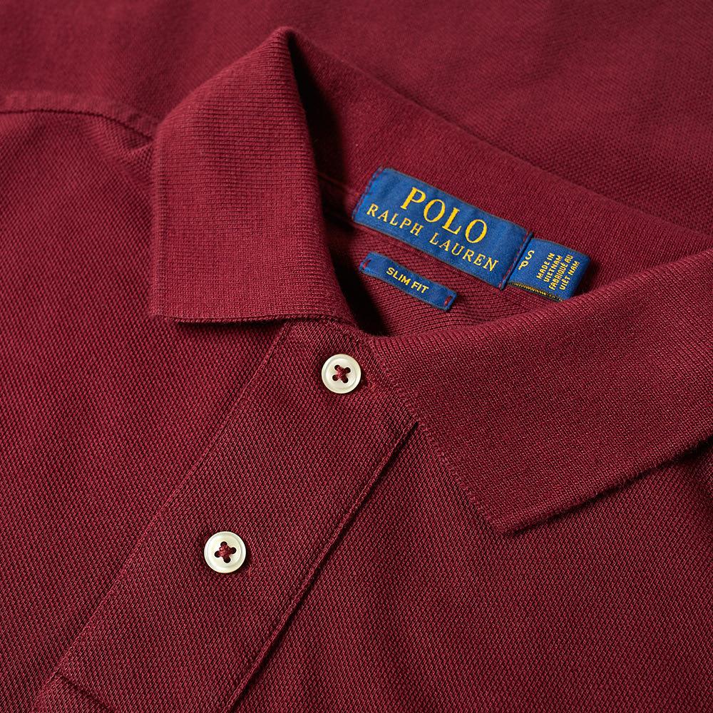 Long Lauren Slim Ralph Polo Fit Sleeve j34ARc5qL