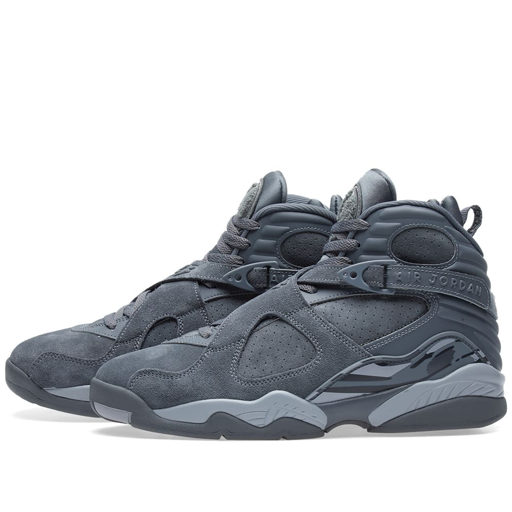 5fcc73969ea57b Nike Air Jordan 8 Retro Cool Grey   Wolf Grey