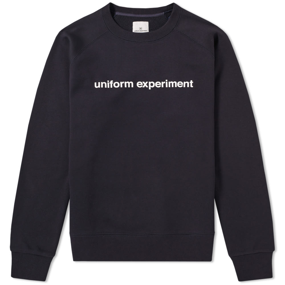 UNIFORM EXPERIMENT AUTHENTIC LOGO CREW SWEAT
