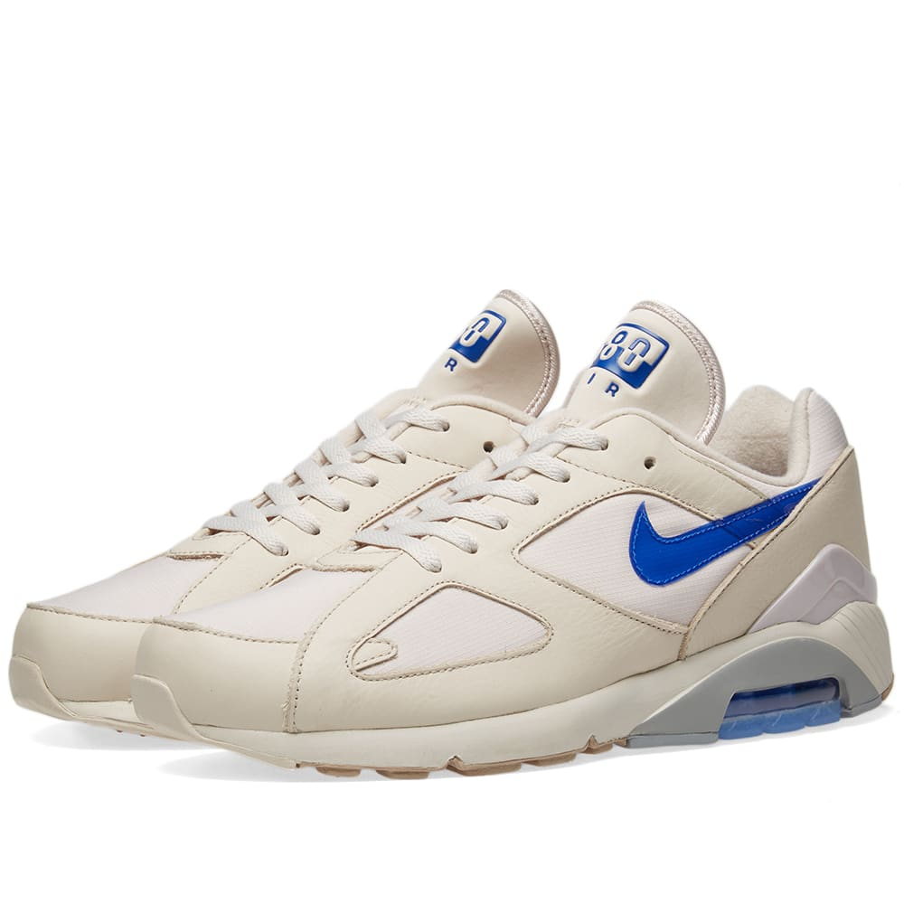 new style 26fb6 c8d82 Nike Air Max 180 Sand, Racer Blue   Orange   END.