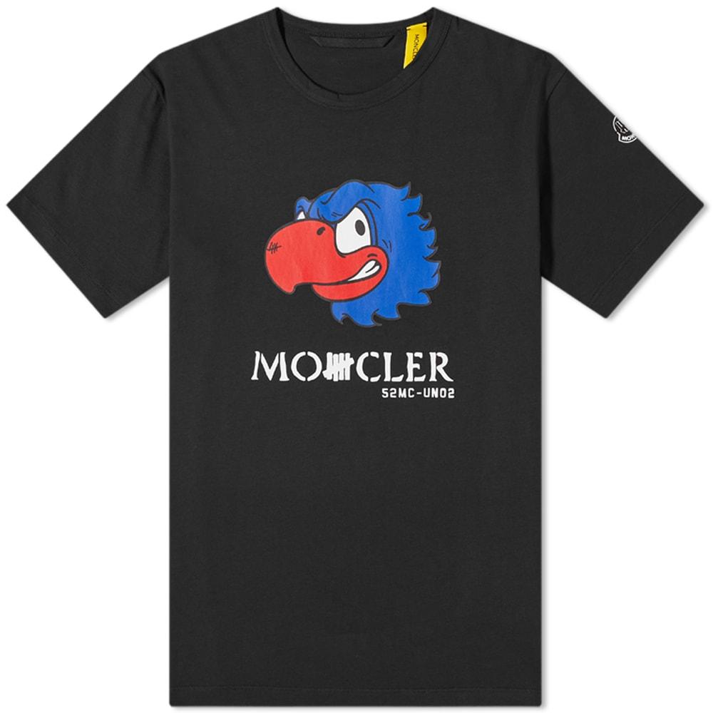 Moncler Genius Cottons Moncler Genius 2 Moncler 1952 x Undefeated Eagle Print Tee