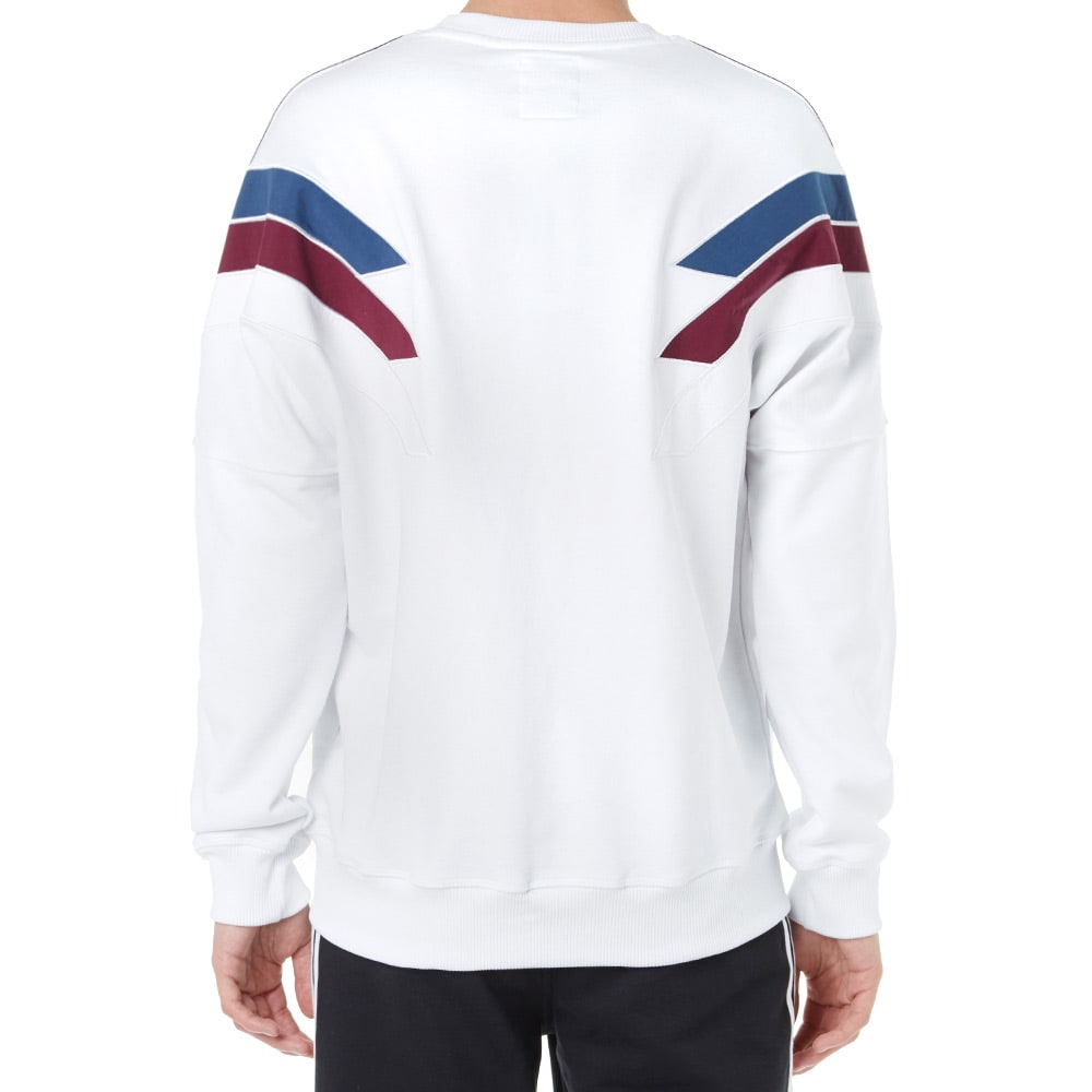 8eda0c61 Adidas x Palace Stripe Crew Sweat White | END.