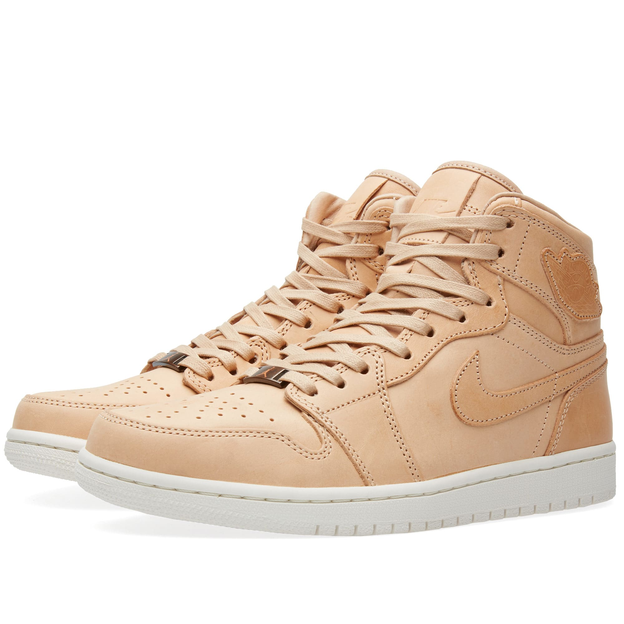 huge selection of 267c4 da7c8 Nike Air Jordan 1 Pinnacle Vachetta Tan   Sail   END.