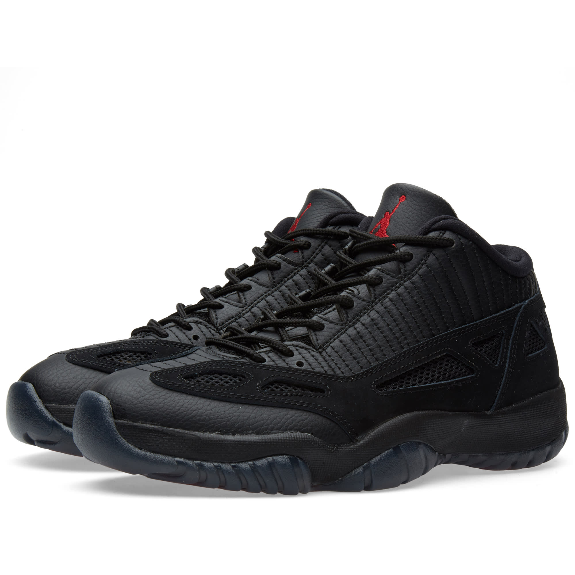 wholesale dealer 0afed e39c6 Nike Air Jordan XI Retro Low  Black Cat  Black   True Red   END.