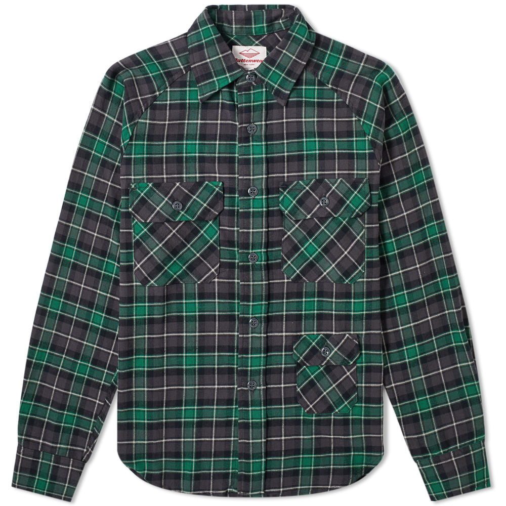 Battenwear Camp Shirt In Green