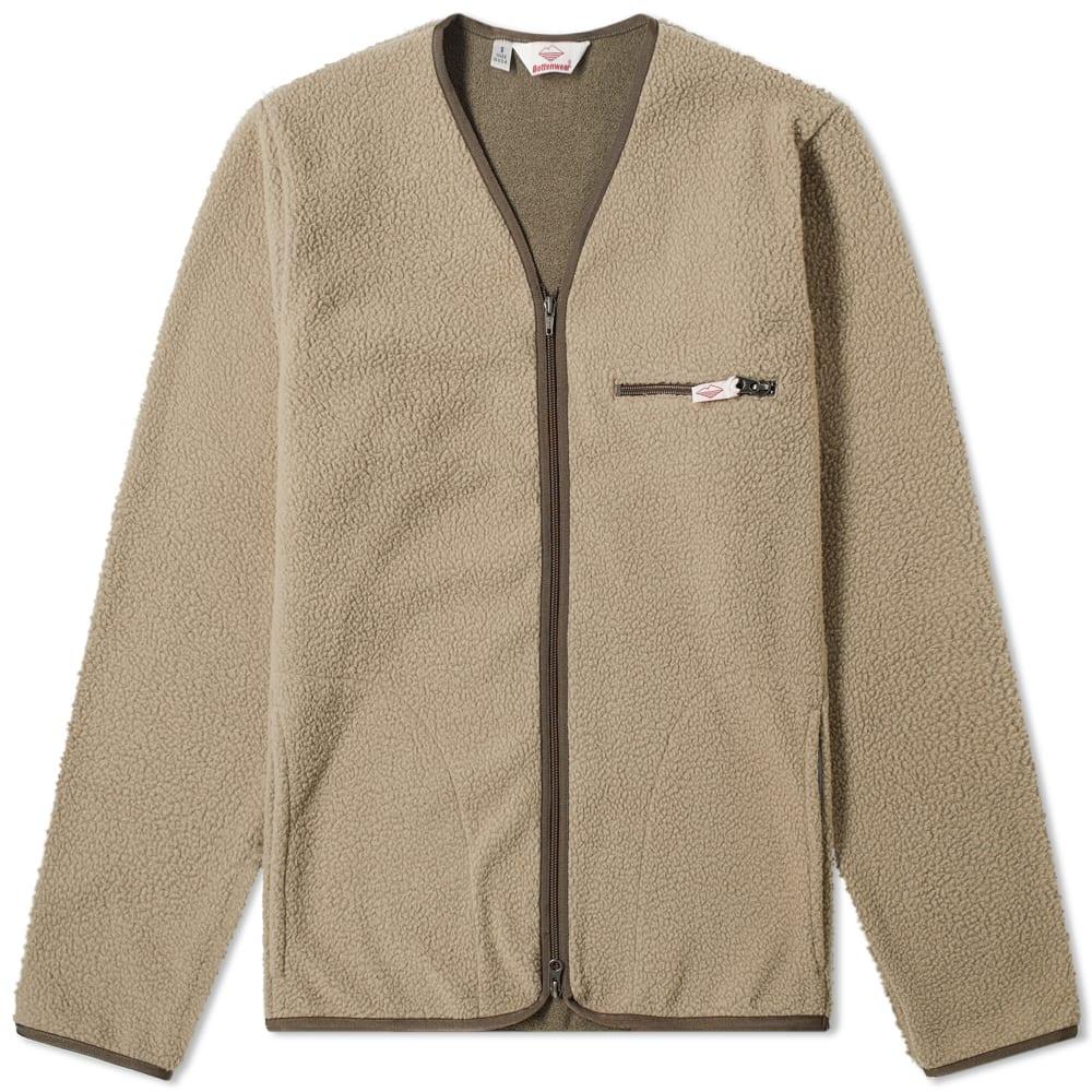 Battenwear Lodge Cardigan In Brown