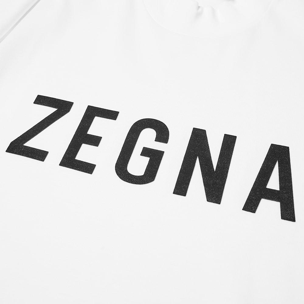 FEAR OF GOD X ZEGNA Cottons Fear of God x Zegna Oversized Logo Tee