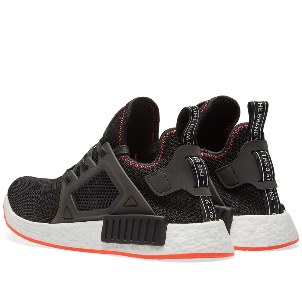 competitive price 58183 4670c Adidas NMD XR1 Core Black   Solar Red   END.