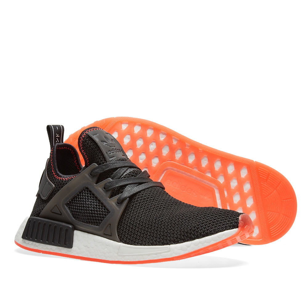 sports shoes 71ad1 ff56e Adidas NMD XR1. Core Black   Solar Red