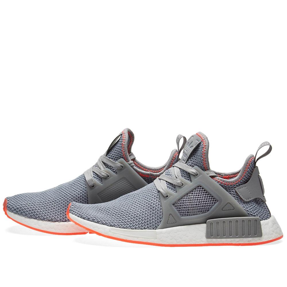 af4299ade Adidas NMD XR1 Grey Three   Solar Red