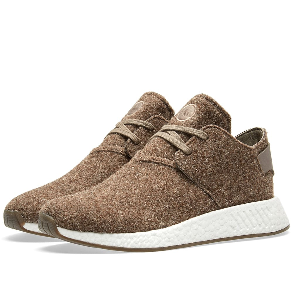 online store 80789 091ec Adidas x Wings + Horns NMD C2 Simple Brown & Gum | END.