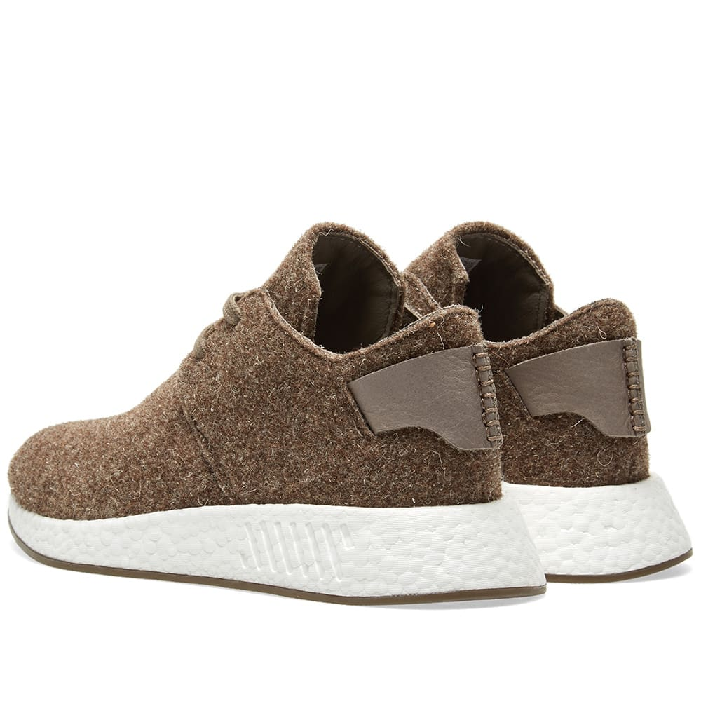 d6c5a0d74 Adidas x Wings + Horns NMD C2 Simple Brown   Gum