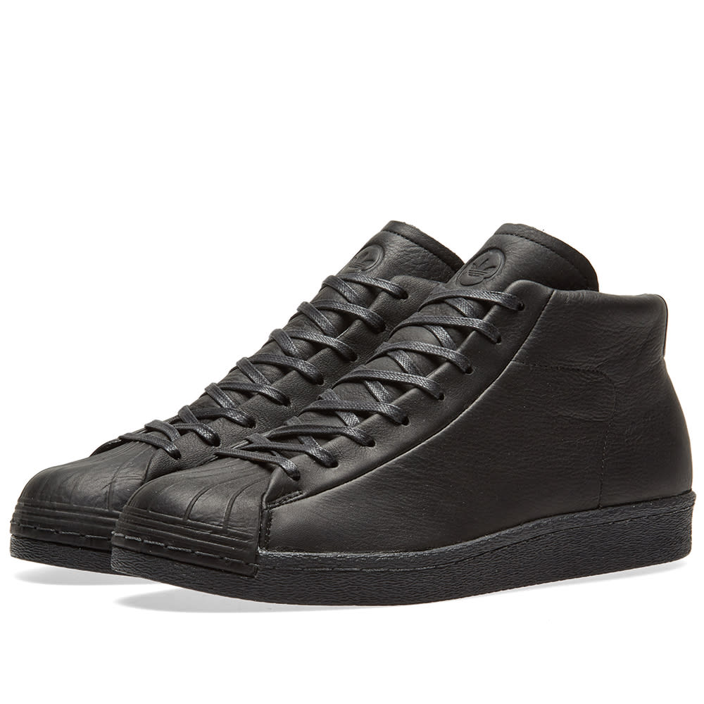 57f23e2ffe8 Adidas x Wings + Horns Promodel 80s Core Black