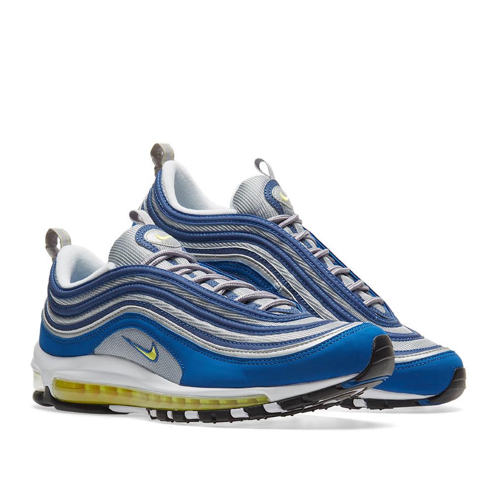 hot sale online 59267 b15d4 Nike Air Max 97. Atlantic Blue   Voltage Yellow