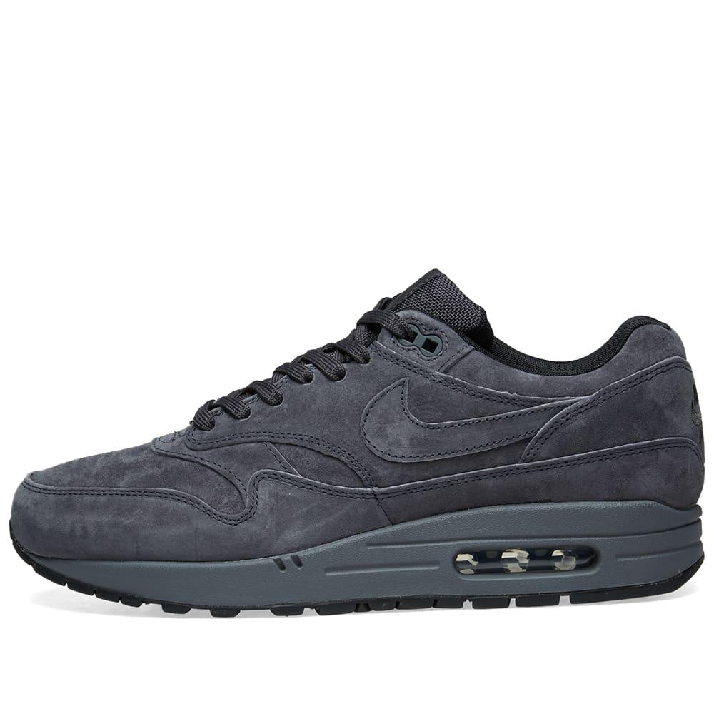 more photos e3a90 23cca Nike Air Max 1 Premium Anthracite, Black   Grey   END.
