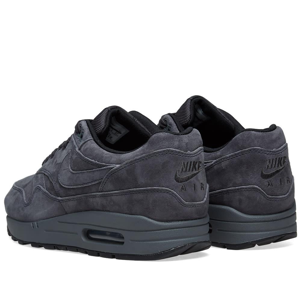 c891fa26f0596 Nike Air Max 1 Premium Anthracite, Black & Grey | END.