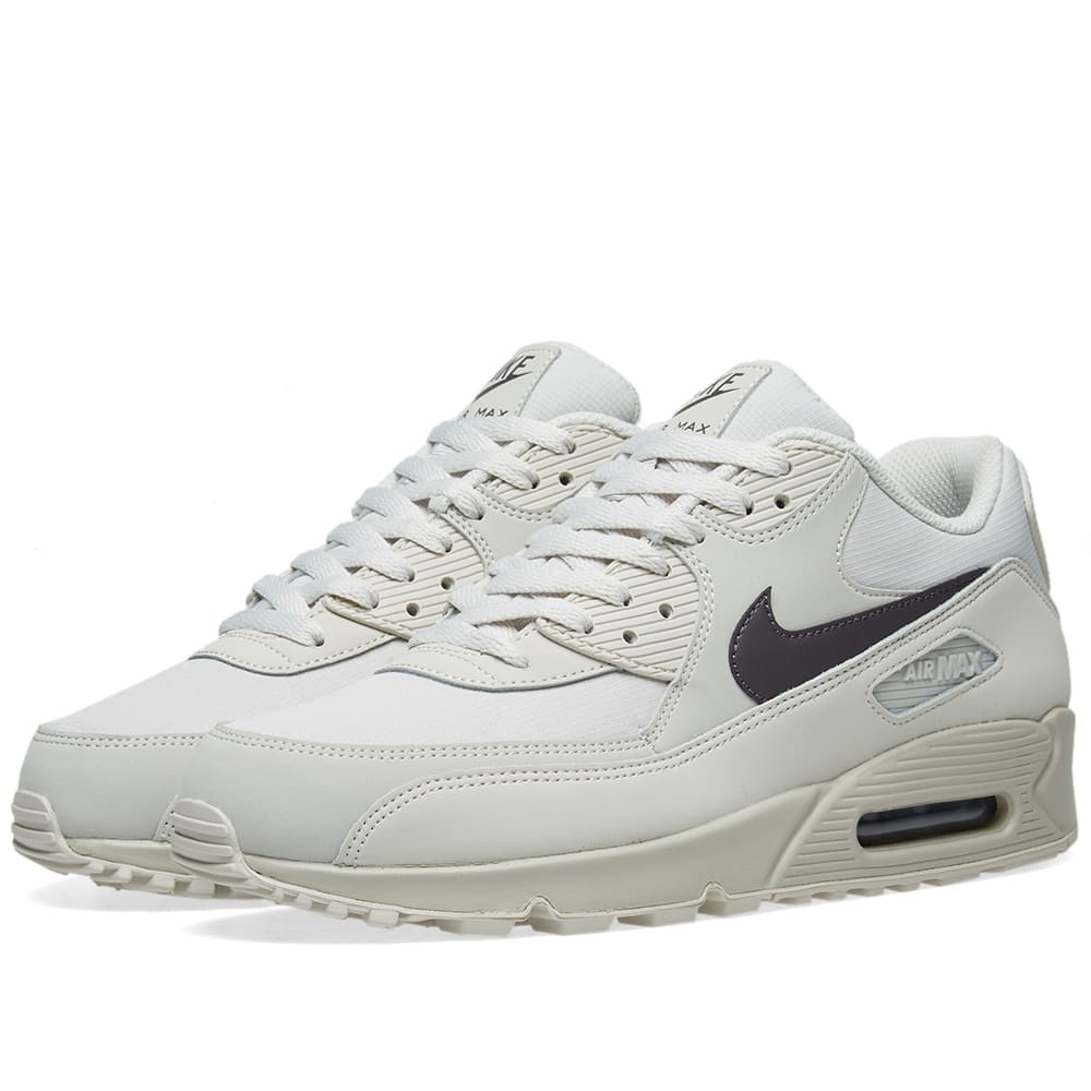 c24d6d908d3 Nike Air Max 90 Essential Light Bone   Thunder Grey