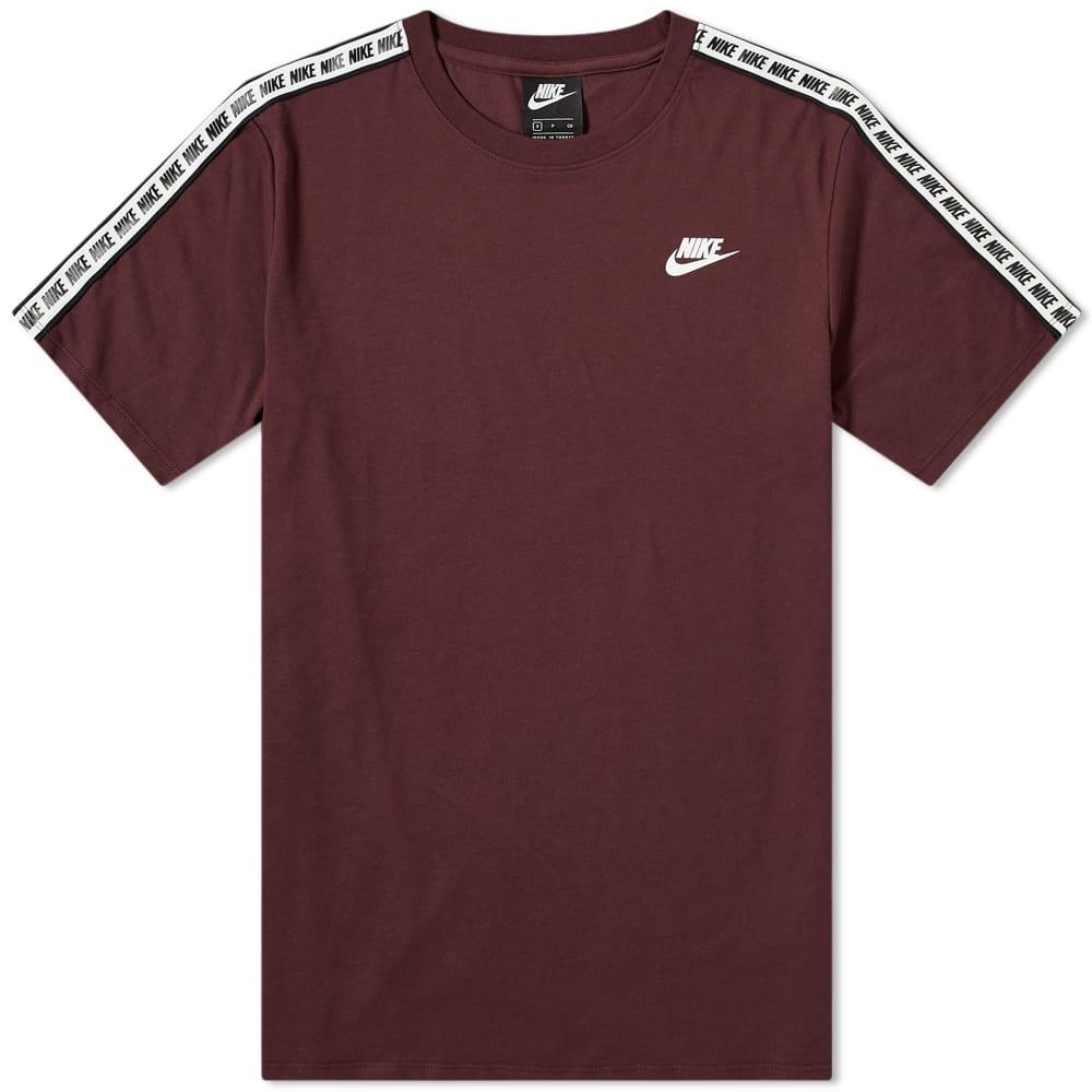 Nike Sportswear Repeat Tee Burgundy Crush