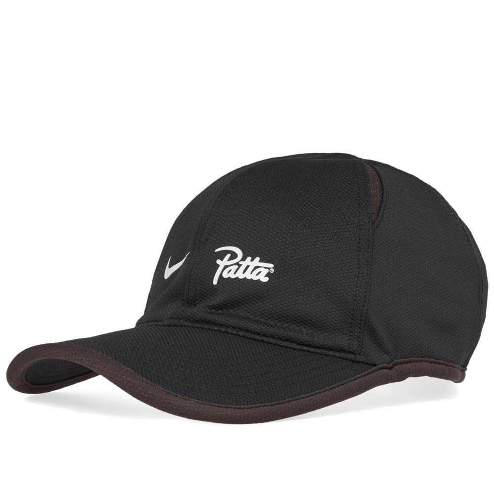 Legibilidad A pie Pico  Nike x Patta AeroBill Cap Black | END.