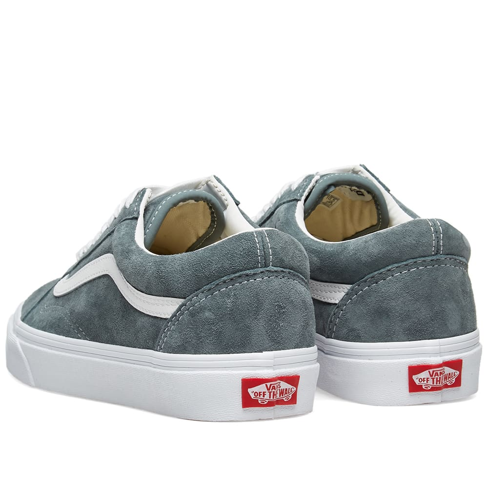 8f7b015354 Vans Old Skool Pig Suede Stormy Weather   True White
