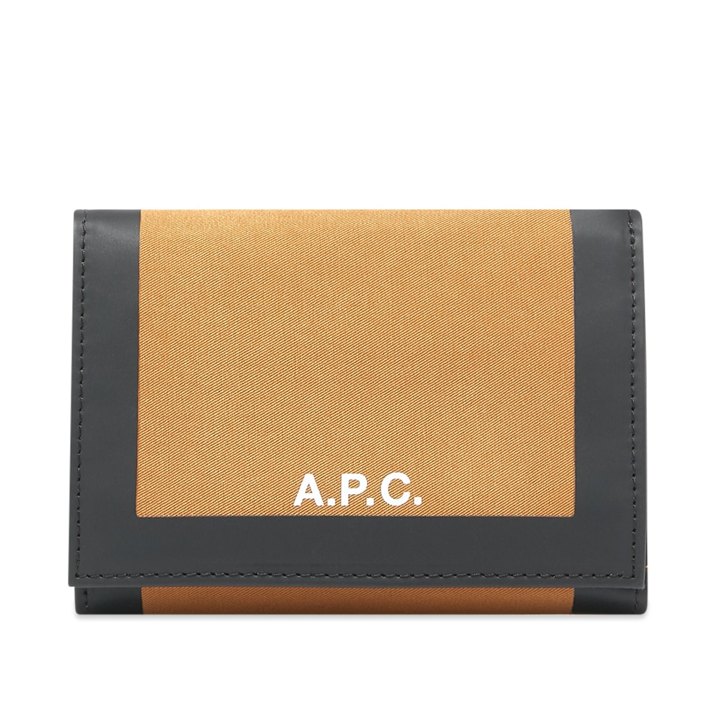 A.P.C. Savile Velcro Canvas Wallet