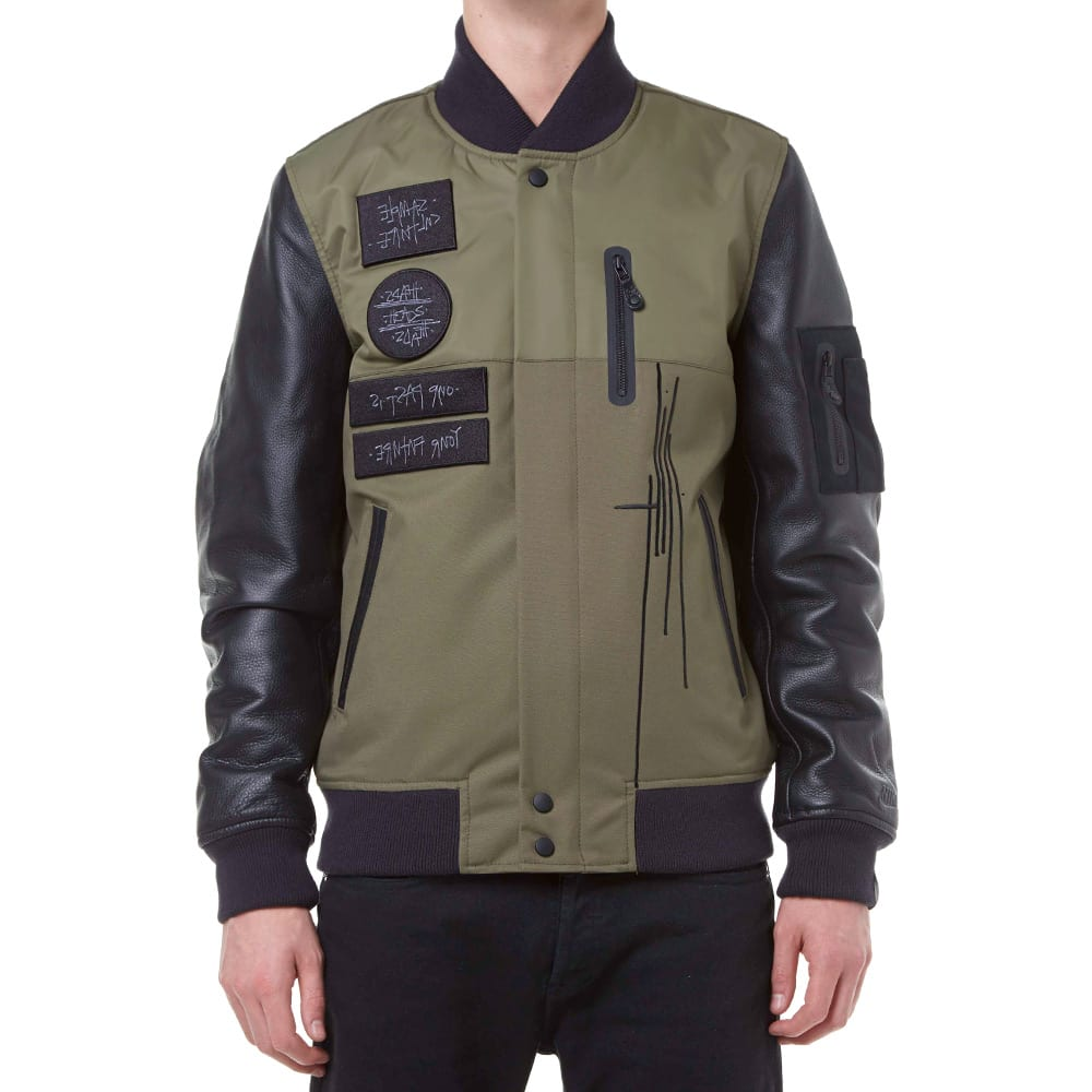 uk availability 393f8 7afa8 Nike Lab x Mo  Wax Destroyer Jacket Medium Olive   END.