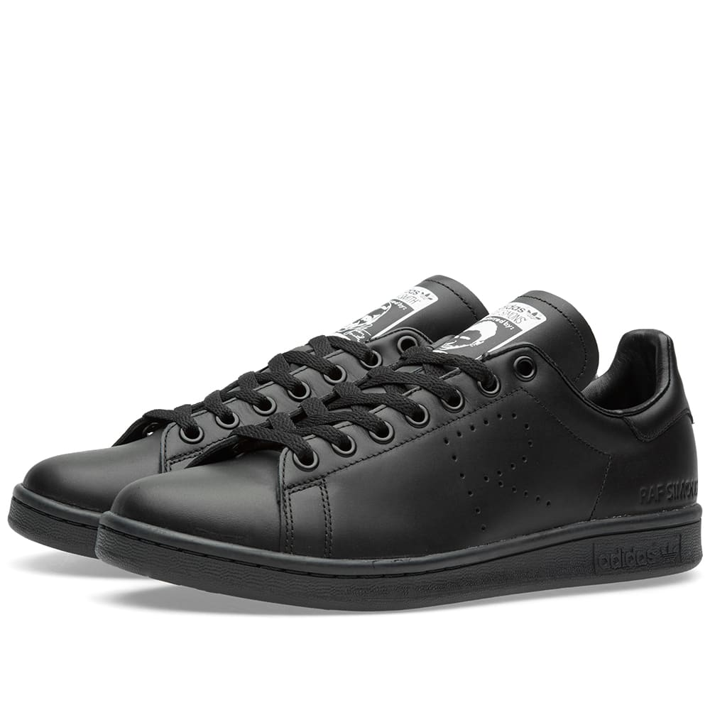 adidas x raf simons stan smith black. Black Bedroom Furniture Sets. Home Design Ideas