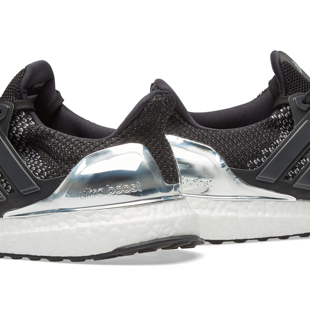 premium selection 4fc9d c6257 Adidas Ultra Boost Ltd. Core Black   Silver Metallic   END.