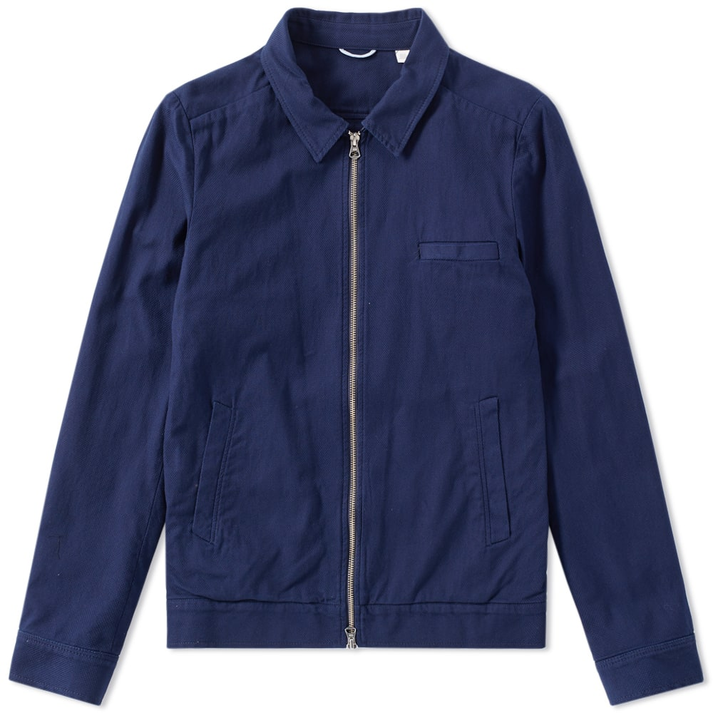 GANT RUGGER TEXTURED SHIRT JACKET