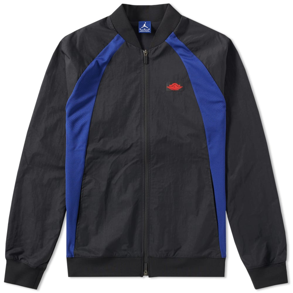 c7553b4b78deb2 Nike Air Jordan 1 Wings Jacket Black