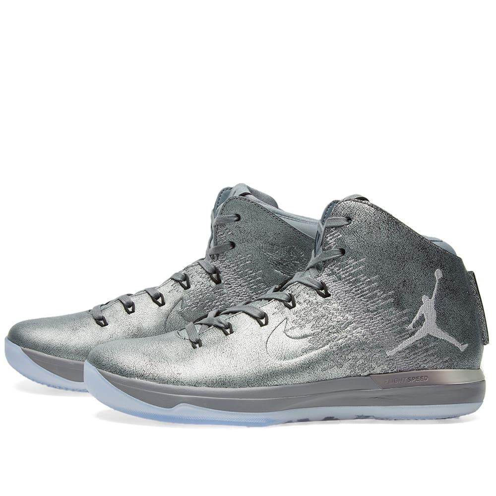sale retailer c8e71 4ad94 Nike Air Jordan 31 Premium 'Battle Grey'