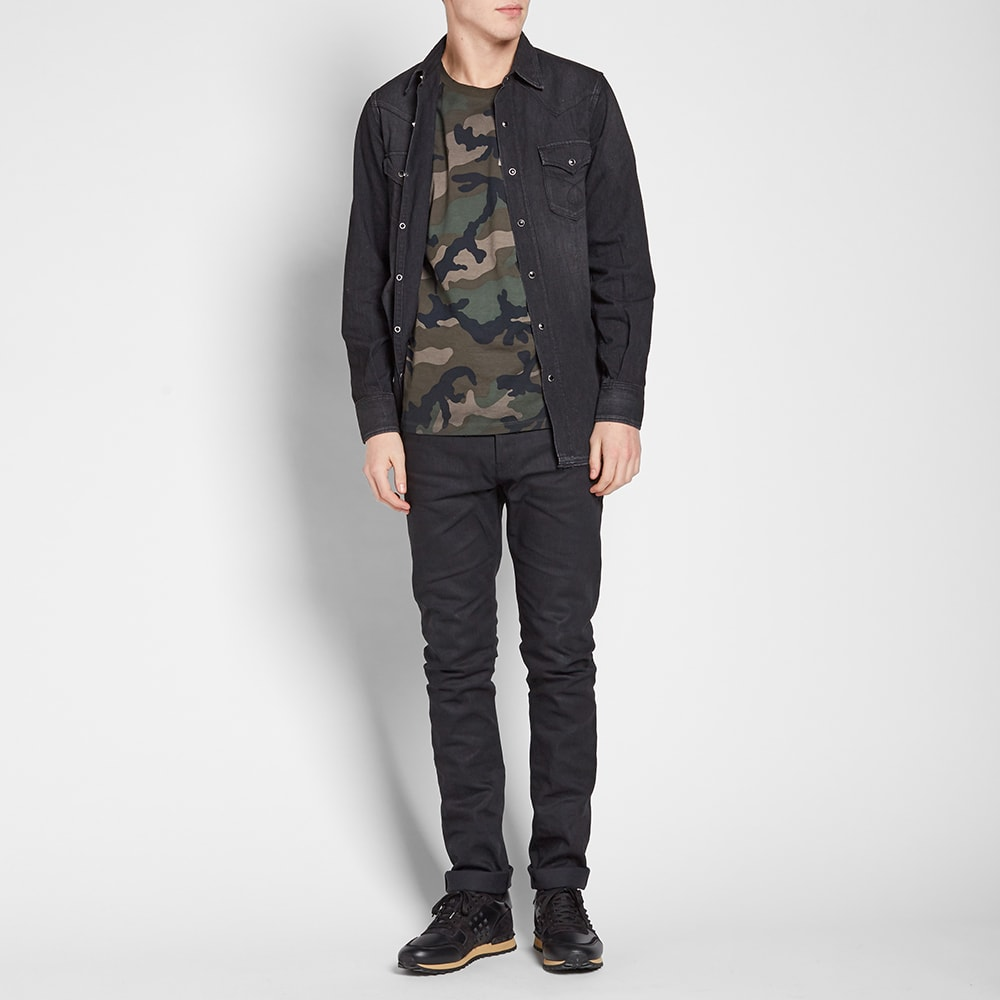 48d87d29 Valentino Distressed Camo Tee Army | END.