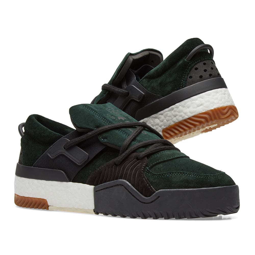 adidas originals by alexander wang bball low green knight