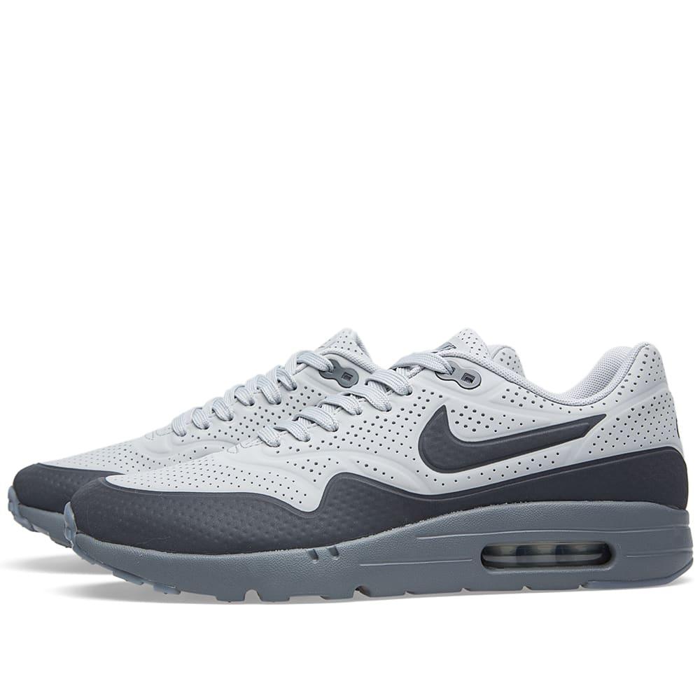 sports shoes c3768 5c1a2 Nike Air Max 1 Ultra Moire Neutral Grey   Dark Grey   END.