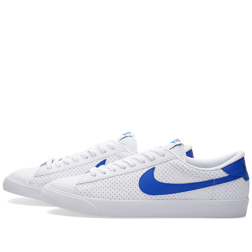 nike tennis classic ac white racer blue. Black Bedroom Furniture Sets. Home Design Ideas