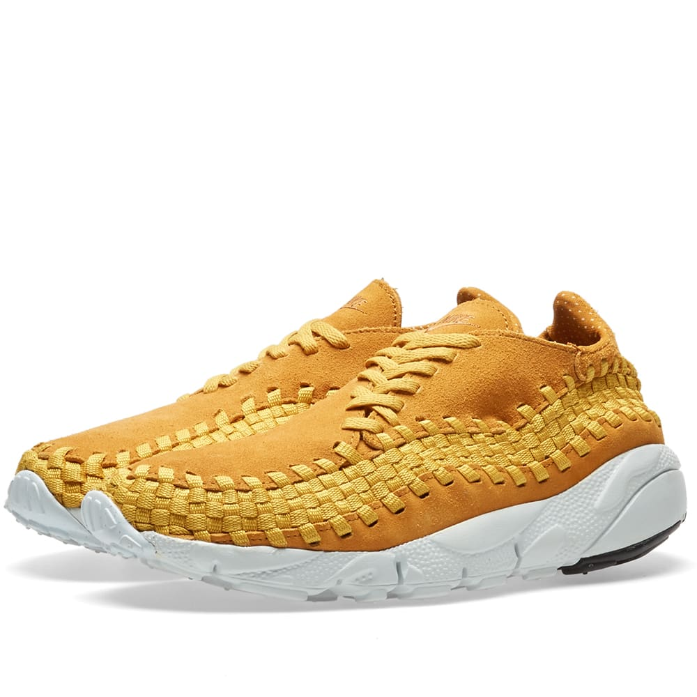 new style f1d57 7fe2c Nike Air Footscape Woven NM Desert Ochre   Gold Dart   END.