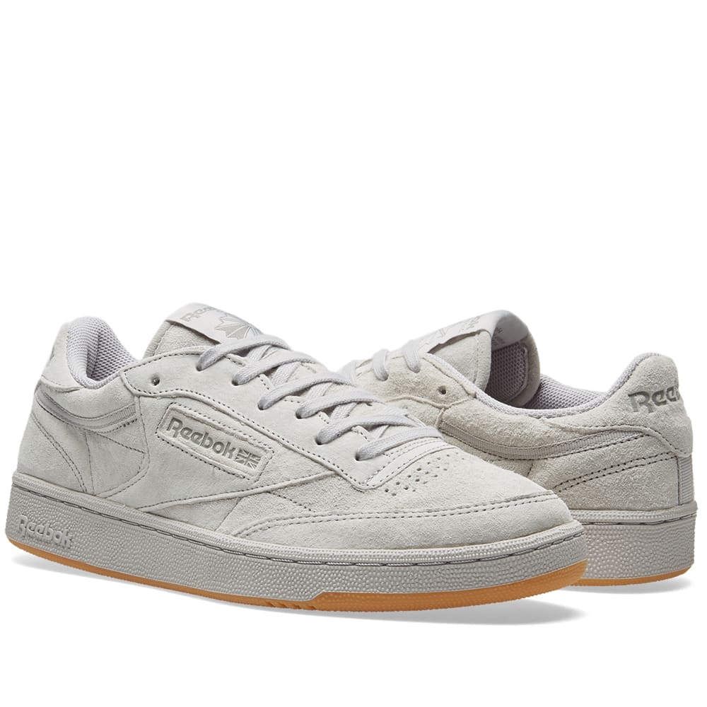 84136e6d2aa Reebok Club C TG Steel   Carbon