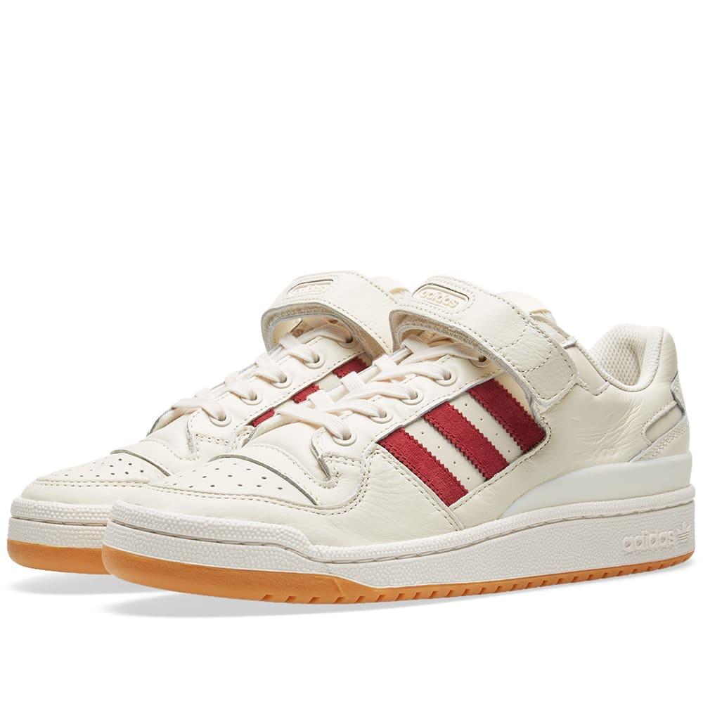 los angeles 2152f ec715 Adidas Originals Adidas Forum Lo In White