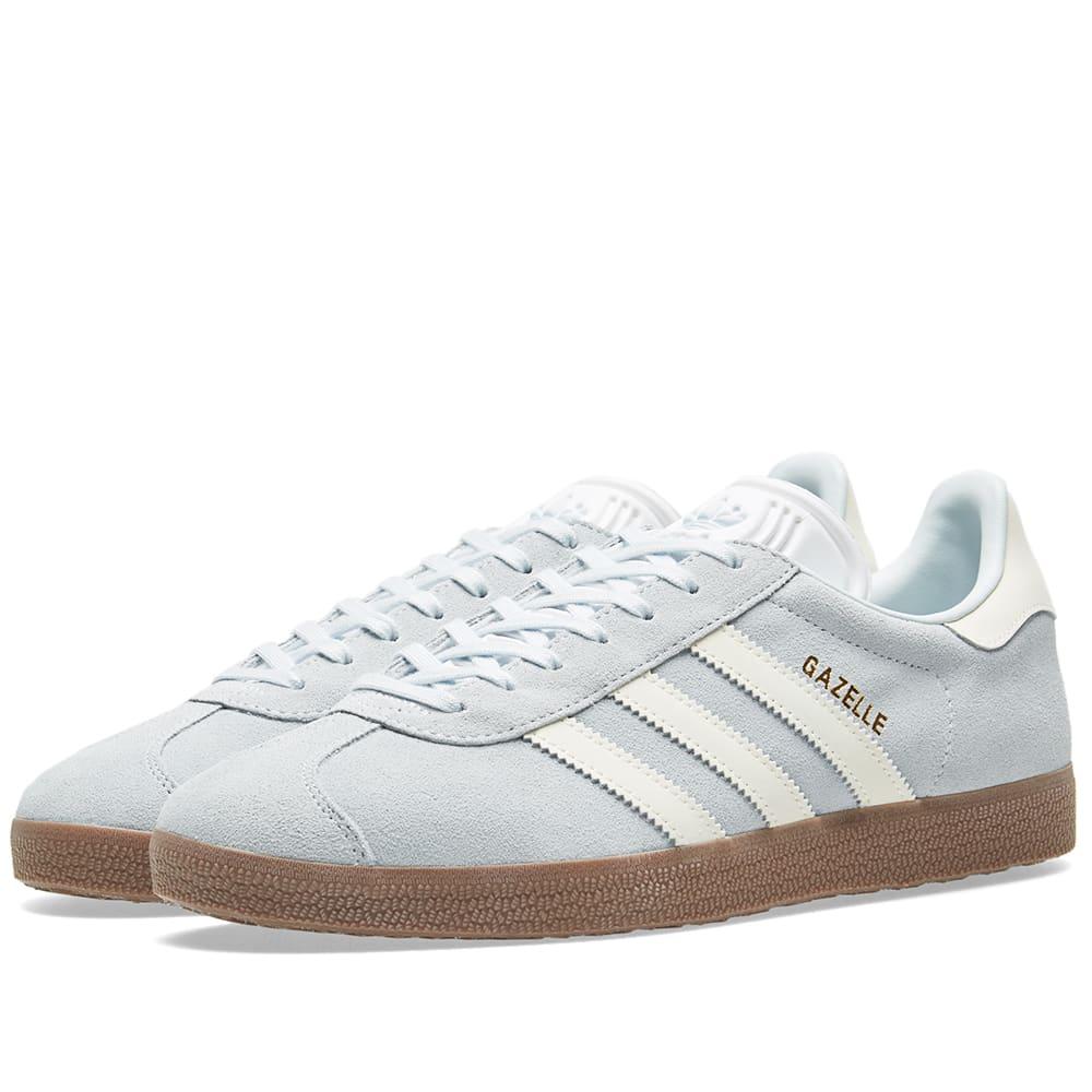 Adidas Gazelle W Blue Tint, White \u0026 Gum