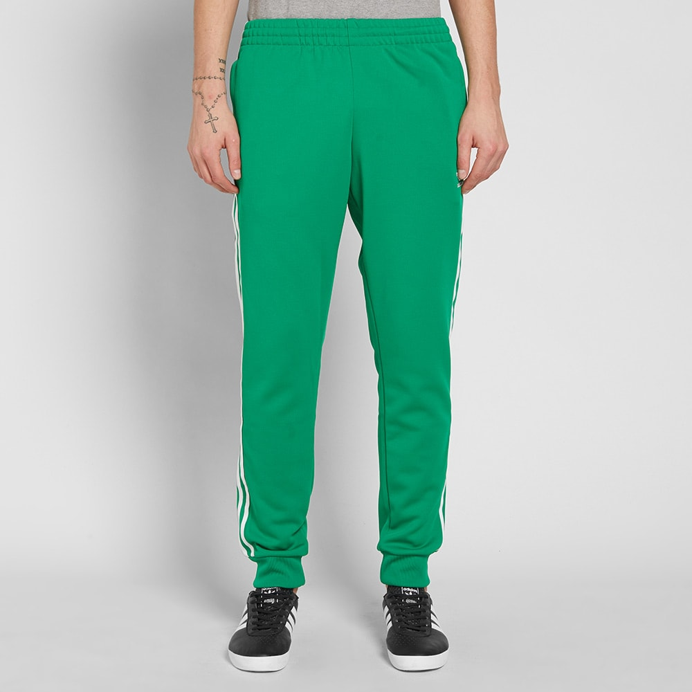 online store 83b87 b53f9 Adidas Superstar Track Pant Green   END.